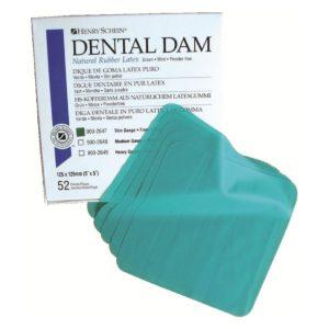 Digues dentaires - préservatifs linguales